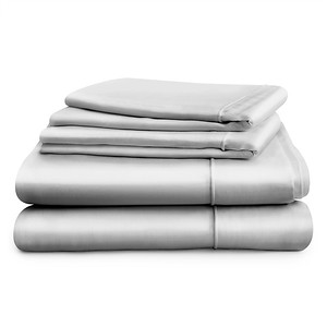 Hampton & Astley Silver Bedding 3 Item Stack 1024