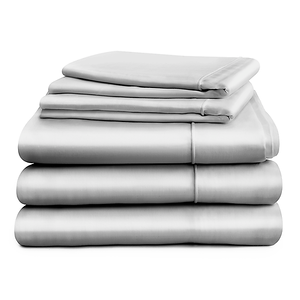 Hampton & Astley Silver Bedding 4Item Stack 1024