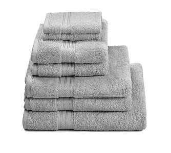 H&A Silver Towel Stack