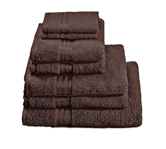 H&A Chocolate Towel Stack