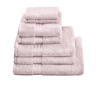 H&A Pink Towel Stack