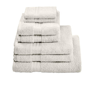 H&A Ivory Towel Stack