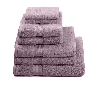 H&A Lilac Towel Stack