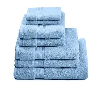 H&A Cobalt Towel Stack