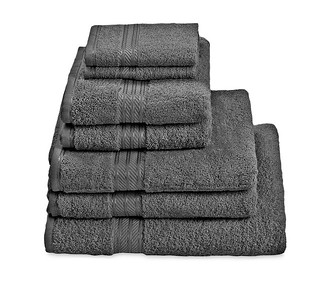 H&A Charcoal Towel Stack