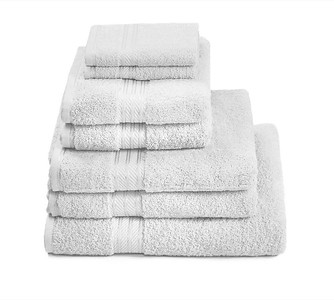 H&A White Towel Stack