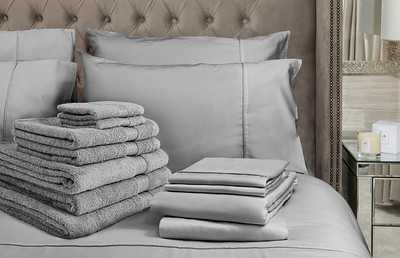 Grey Bedding Lifestyle - Crop