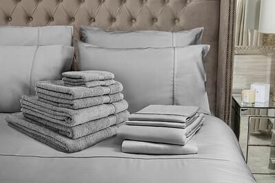 Grey Bedding Lifestyle