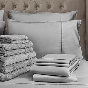 Grey Bedding Lifestyle Crop