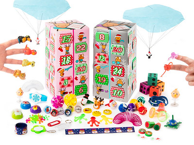 Advent Calender Toys Closed