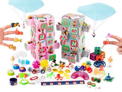 Advent Calender Toys Open Box