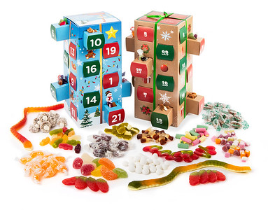 Advent Calender Sweets 2
