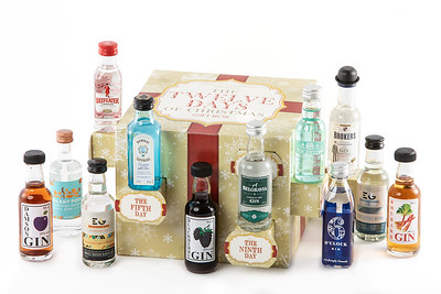 Twelve Days Christmas Box Gin
