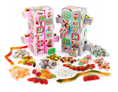 Advent Calender Sweets