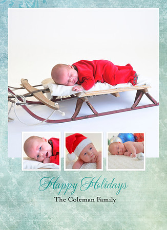 5x7 and 4x6 Holiday Cards
