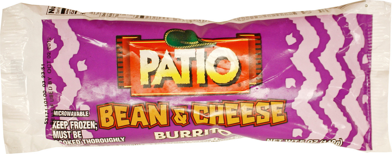 _MG_5168 Patio Been And Cheese Burrito 5oz