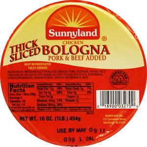 _MG_4183 Sunnyland Thick Sliced Bologna