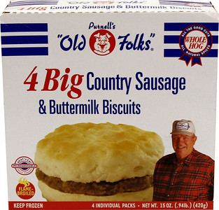 _MG_3170 Old Folks 4 Big Country Sausage and Buttermilk Biscuits 15oz