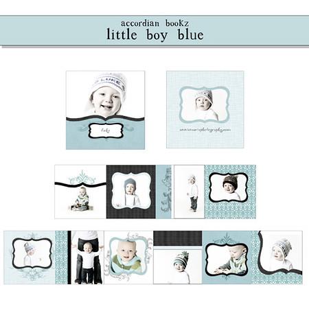 accordian bookz little boy blue