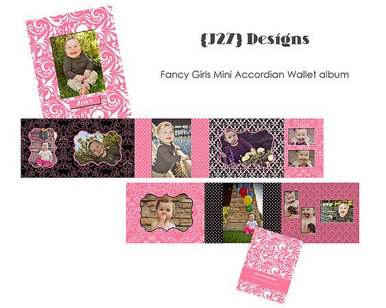 J27 Designs Fancy Girls Accoridan Wallet SAMPLE SIGN copy
