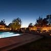 Marfa, TX air bnb at night
