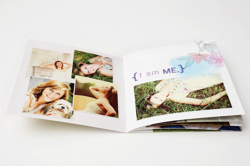 Soft Cover Book:  Soft Cover Books are press-printed and covered with stock paper. They're affordable and completely flexible in both build and functionality.