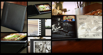 Nexus Albums<br /> These make great parent albums and Guest Books for your wedding.