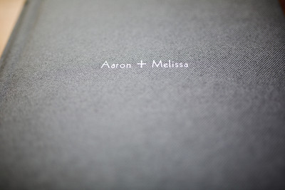 8x8 Flushmount Album Covered in a grey fabric and white lettering