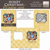 honey christmaswindow poster