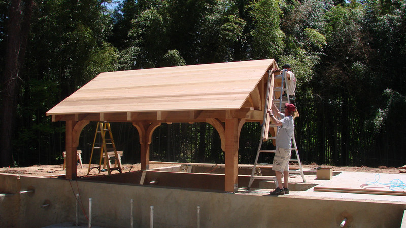Cedar Gazebo with Braces