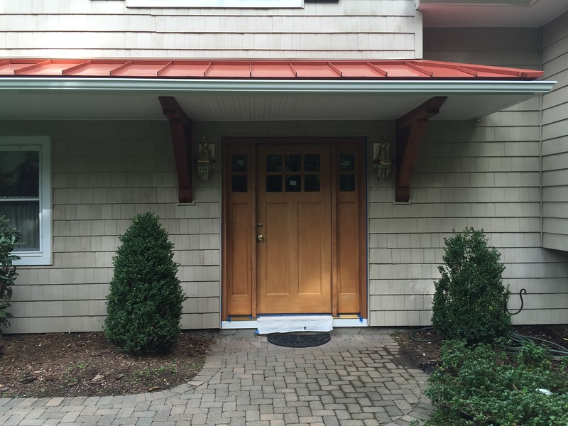 Custom Cedar Bracket - Porch