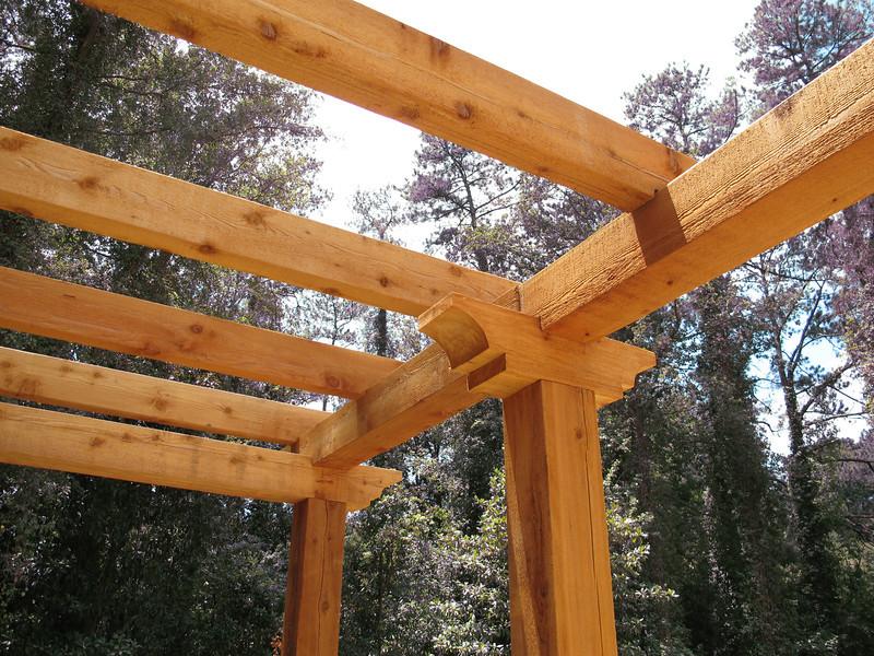 Custom Cedar Pergola