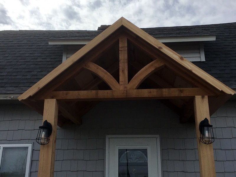 Custom Gable Bracket Base on GB41