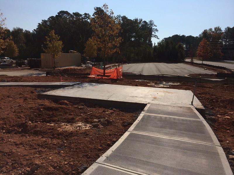 Concrete is ready