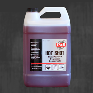 Hot Shot Gallon - chalkboard