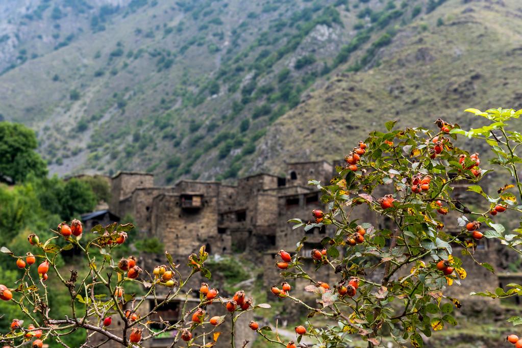 Historic Shatili Villlage in Khevsureti