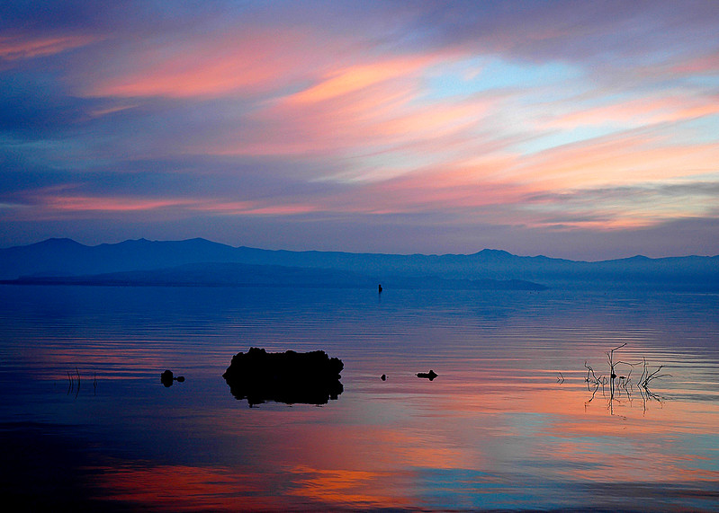 Pastel Sunrise on Mono Lake, Mono Lake, CA