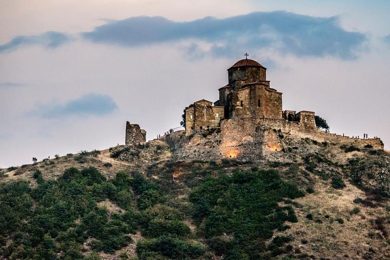 Jvari Monastery in  Mtskheta Georgia