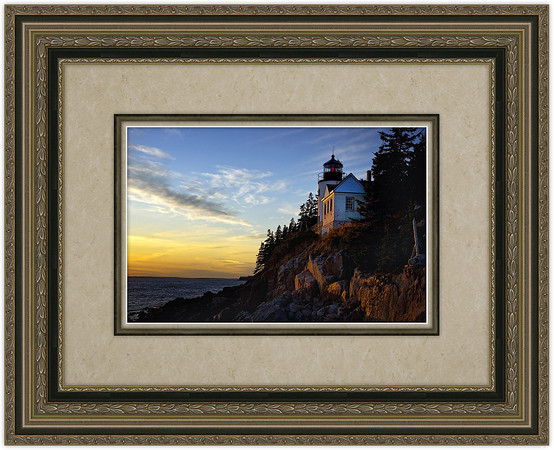 "<font size=""4"" color=""#FF0000"" face=""Arial Black"">Bass Harbor Light, Acadia National Park, Maine</font><br> 10"" x 15"" framed photograph (GV005-BH1015photo-132-9483-FS04-Marble2)<br><br> This is a unique framing package selected to show off the Bass Harbor Light to its fullest. The framing package includes double matting with a wooden fillet separating the two mats. These are placed inside both a frame and a stacker frame. The outside frame dimensions are approximately 27"" x 22"" (outside dimensions may vary slightly).<br><br> <font color=""#00FF00""><b>$275.00</b></font><br> Free Shipping <br><br>  <form name=""InvestmentForm""   action=""https://www.paypal.com/cgi-bin/webscr"" method=""post"" target=""_blank"">"