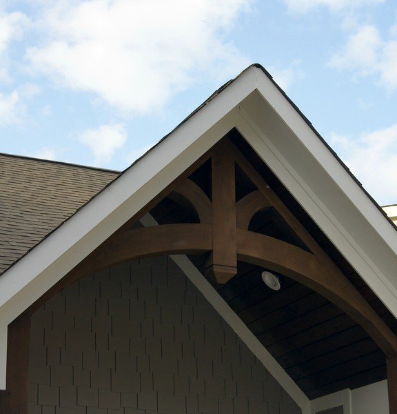 Custom Gable Bracket Base on 43BP
