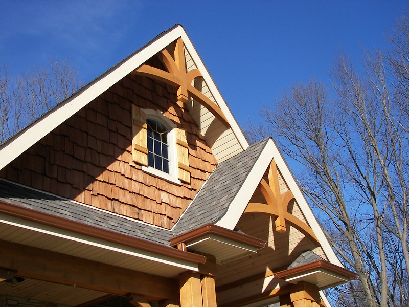 Gable Bracket 43 from Cedar Timber