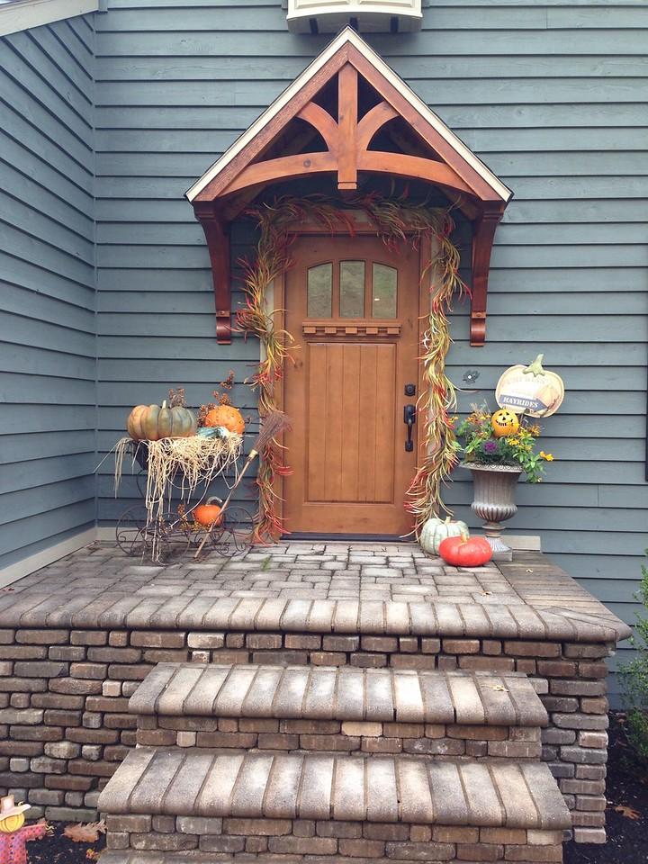 Gable Bracket Front Porch