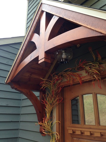 Gable Bracket Front Porch
