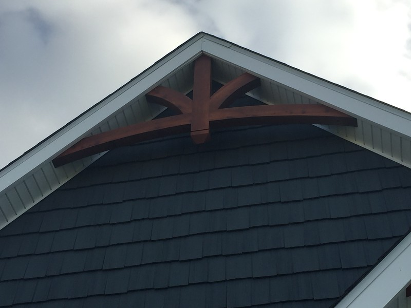 Gable Bracket 43 Smooth Finish