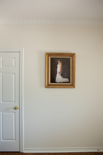 This is a Fine Art Portraiture printed on Metallic Photographic paper and appropriately framed.  It displays nicely as a Hall or Entry Way Portrait.