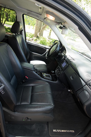 ML55 front seats