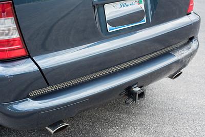 Ml55 back bumper