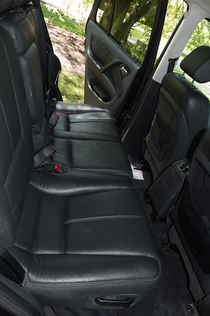 ML55 rear passenger seats