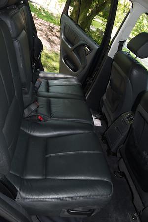 ML55 rear passenger seats