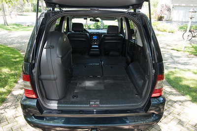 ML55 back interior